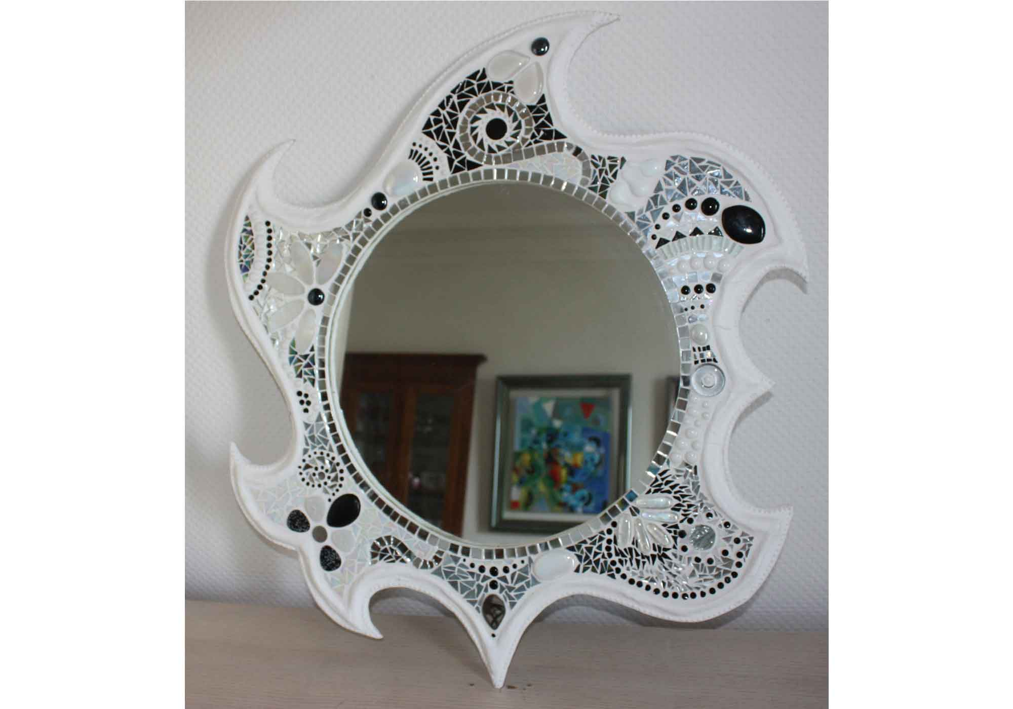 Miroir magique lily danan artiste peintre for Miroir magique